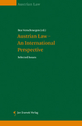 Mehr zu: Austrian Law - An International Perspective
