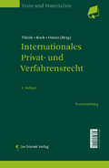Mehr zu: SET-The International Dimensions of Law, | Internationales Privat- und Verfahrensrecht