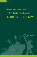 Mehr zu: The International Dimensions of Law