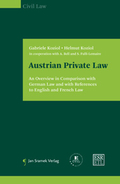 Mehr zu: Austrian Private Law