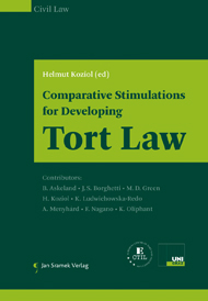 Comparative Stimulations for Developing Tort Law