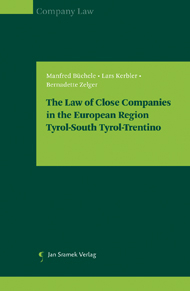 The Law of Close Companies in the European Region| Tyrol-South Tyrol-Trentino